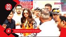 Deepika Padukone to protect Ranveer Singh - Bollywood News - #TMT