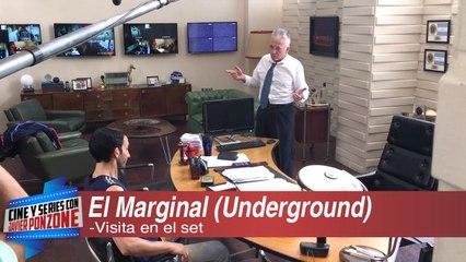 """Set de """"El Marginal"""" la nueva ficción de Underground"""
