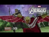 Marvel's Avengers Assemble Clip: Falcon Fights Without Technology