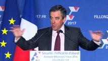 Discours de François Fillon sur la Sécurité à Boulogne le 9 Mars 2016