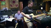 """Fortunate Youth recording """"Vibes"""" at 17th Street Recording Studios"""