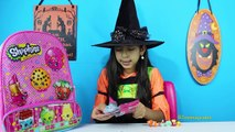 Shopkins Surprise Toy Backpack + Giant Shopkins Play Doh Surprise Egg! Back to School Eggs