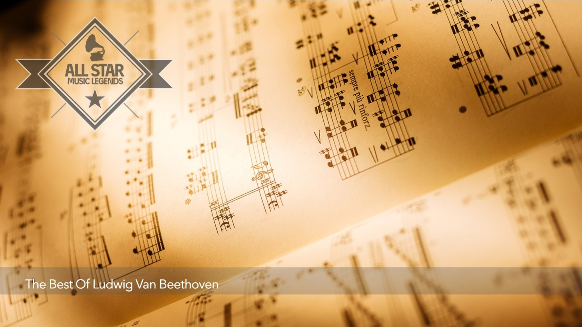 VA - Classical Music // The Best Of Ludwig Van Beethoven (3 Hours) // All Star Music Legends