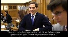 Christophe Grebert craque au conseil municipal de Puteaux du 9 mars 2016