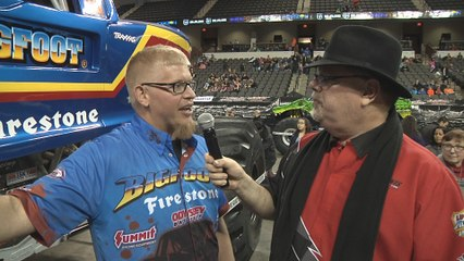 Pit Party Interview - Darron Schnell driver of Bigfoot