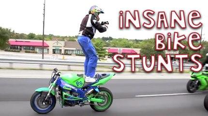 Insane Motorbike Stunts