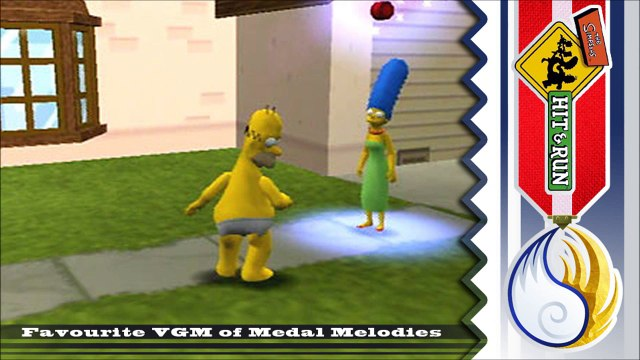 Golden VGM #528 - The Simpsons: Hit & Run ~ Homers Music Cues