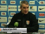 (J29) Tours 1-1 Laval, réaction de D. Zanko