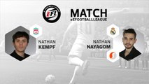 eSport - E-Football League : le résumé du match entre Nathan Kempf et Nathan Nayagom