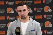 Johnny Manziel waived by Browns