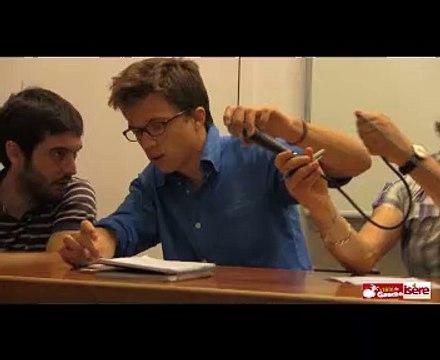 Débat avec Iñigo Errejón au Remue méninges 2014 du Parti de gauche