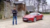 Test Driving The Aston Martin V12 Vantage