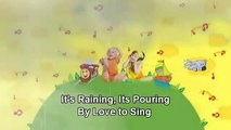 Rain Song   Its Raining, Its Pouring with Lyrics   Children Love to Sing Kids Songs