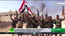 Report from the frontline where Syrian troops fight against ISIS and al-Qaeda / al-Nusra terrorists