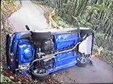 rally incidenti crash inediti