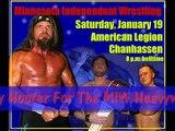 BUZZ TV Wrestling #10 Pete Huge V Brody Hoofer MIW Title 1/1