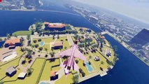 GTA 5 VICE CITY Remastered HD Map Expansion Mod Gameplay! GTA 5 Mods