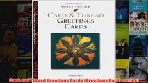 Download PDF  Card and Thread Greetings Cards Greetings Cards series FULL FREE