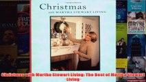 Download PDF  Christmas with Martha Stewart Living The Best of Martha Stewart Living FULL FREE