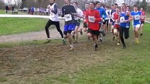 Championnat de France junior cross country homme unss Les Mureaux 2015