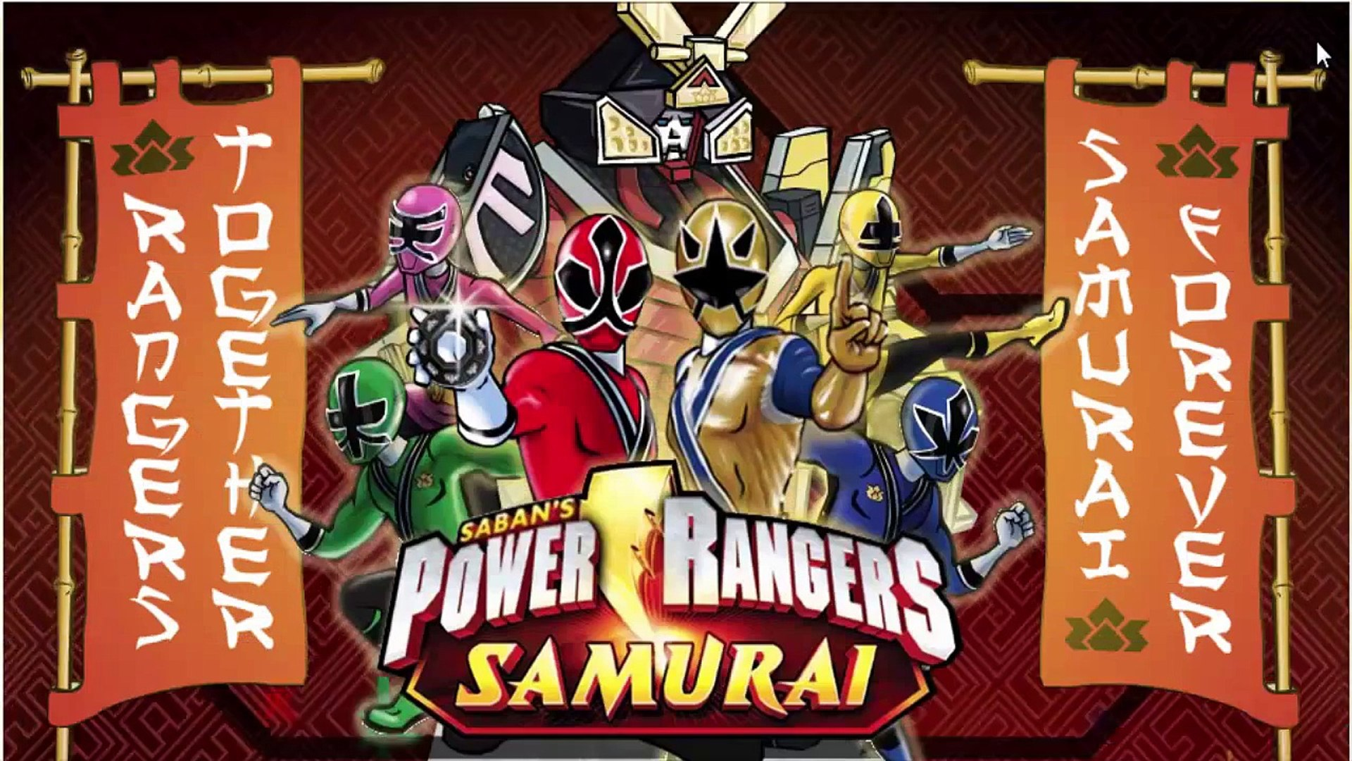 Power Rangers Samurai Game - New Power Rangers 2014