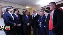 GAZA, AUTORIDADES POLÍTICAS DE CHILE VISITAN LA EMBAJADA DEL ESTADO DE PALESTINA
