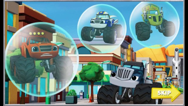 Nick Jr Blaze and the Monster Machines Blaze Race To The Rescue Game Play Walkthrough