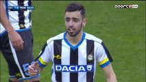 1-2 Bruno Fernandes Goal Italy  Serie A - 13.03.2016, Udinese Calcio 1-2 AS Roma