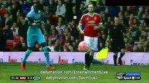 Marouane Fellaini Fantastic CURVE SHOOT CHANCE Man UTD vs West Ham