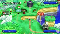New Super Mario Bros. U - Acorn Plains 1-3: Yoshi Hill