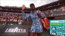 Indian Wells - Accueil chaleureux pour le retour de Venus Williams