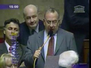 Assemblée questions gouvernement Idiart 19-10-2005