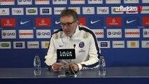 Troyes-PSG. Blanc: «Cavani a eu des périodes meilleures»