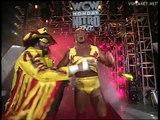 Hulk Hogan, Randy Savage, Bootyman vs Arn Anderson, Ric Flair, Kevin Sullivan, WCW Monday Nitro 11.03.1996