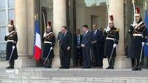 Hollande reçoit les sociaux-démocrates européens