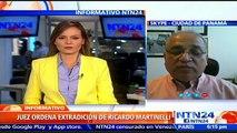 La Interpol de Panamá recibió la orden de detención con fines de extradición del expresidente Ricardo Martinelli (2009-2014), a quien el Supremo procesa por un caso de escuchas telefónicas ilegales durante su Administración, informó este sábado una fuente