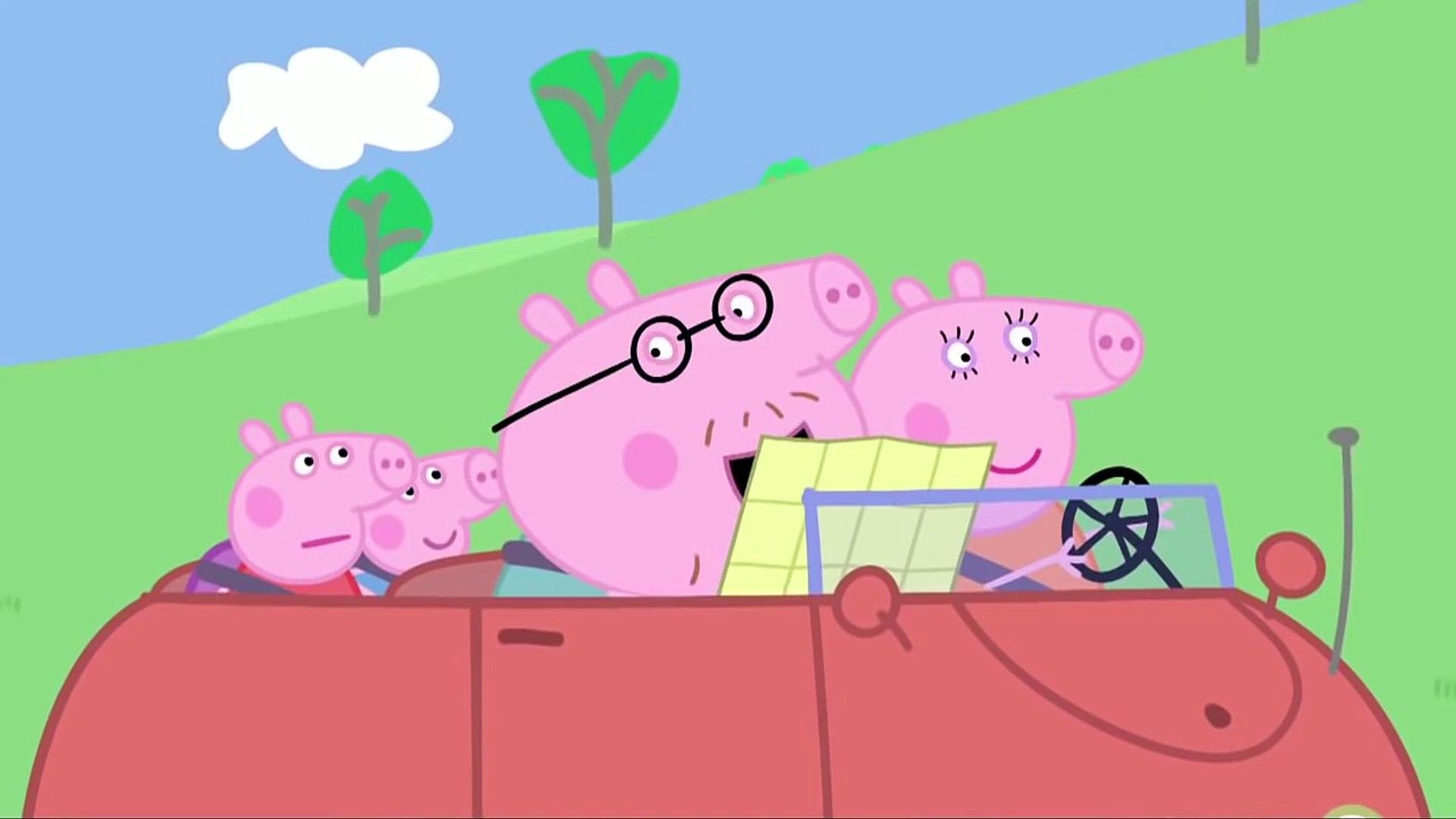 Свинка Пеппа серия 27 Замок Ветров на русском все серии подряд без титров на весь экран сезон1 1акм