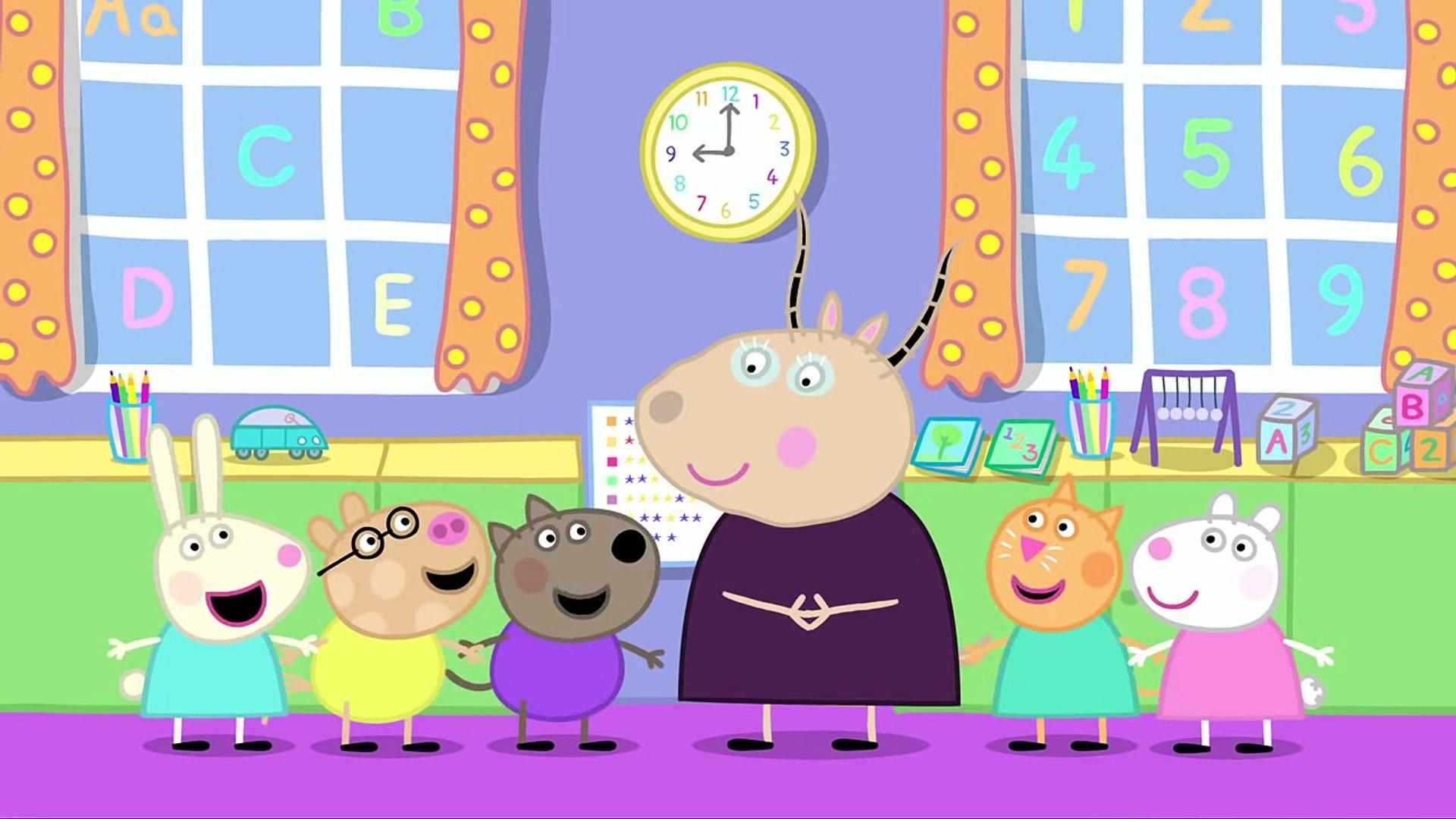 Свинка Пеппа серия 6 Детский сад В детском саду на русском все серии подряд без титров 1сезон