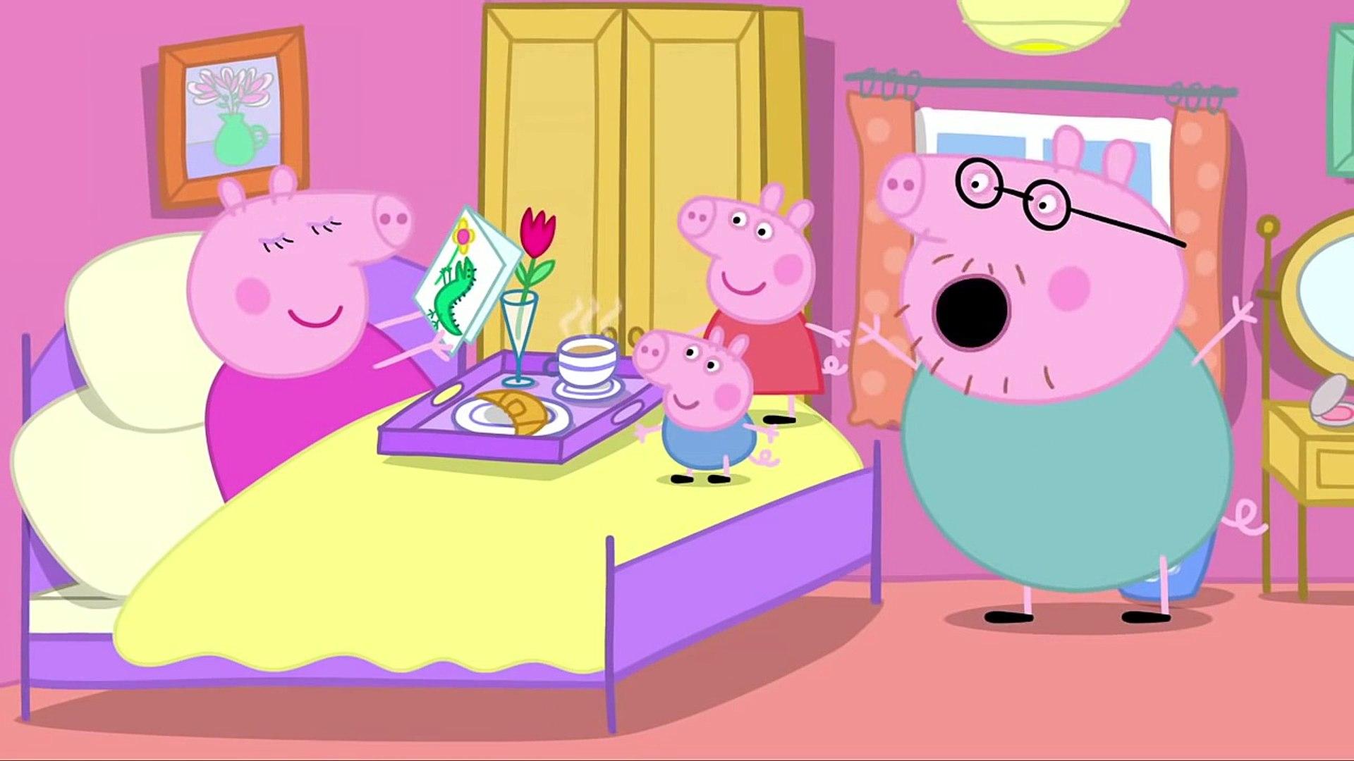 Свинка Пеппа серия 21 День рождения мамы свинки на русском все серии подряд без титров от 1akm