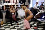 What Occurs When A Lovely Prankster Lets Her Dress Fall Off In Public? Let's See!