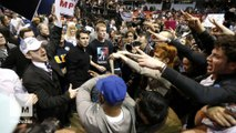 Donald Trump's rallies seem to have reached a tipping point