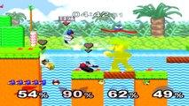 Super Smash Bros. Melee - Classic Mode - Part 10 [Falco]