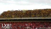 Vs Peñarol (1º/Ida): Recibimiento de Peñarol (Full HD)