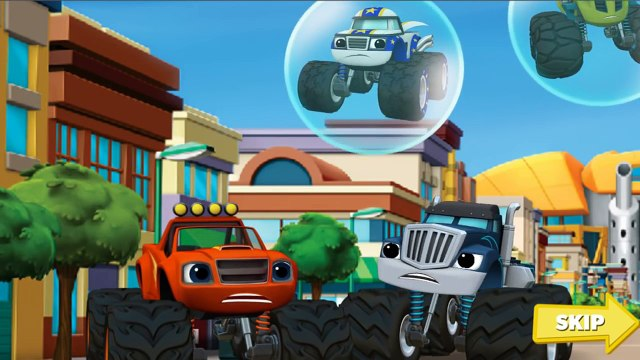 Blaze and Monster Machines - Blaze Race to the Rescue Games HD