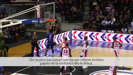 SLUC Nancy Basket - Sharks Antibes (12/03/2016)
