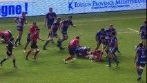TOP14 - Toulon - Grenoble : 38-8 - Essai Delon ARMITAGE (TLN) -J18- Saison 2015-2016