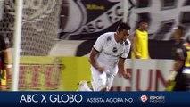Veja os gols de ABC 2x0 Globo - Campeonato Potiguar