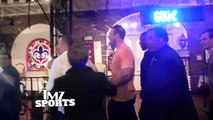 Rob Gronkowski -- SPIKES THE ROSES ... In Wild Hollywood Club Night