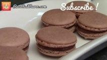 Macarons Choco - Caramel - Chocolate & Caramel Macarons- الماكرون الفرنسي بطريقة مبسطة