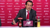 Rueda de prensa de Unai Emery tras el Sevilla FC (4-2) Villarreal CF